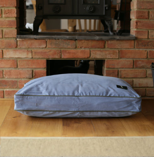 Olive Colour Dog Bed Micro