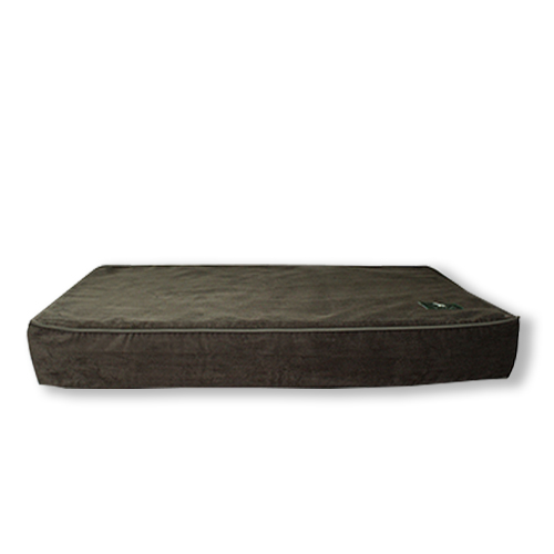 memory foam dog bed in olive corduroy hunt wilson. Black Bedroom Furniture Sets. Home Design Ideas