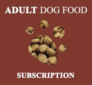 Adult dog food subscription