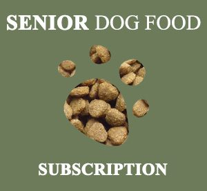 senior dog food subscription